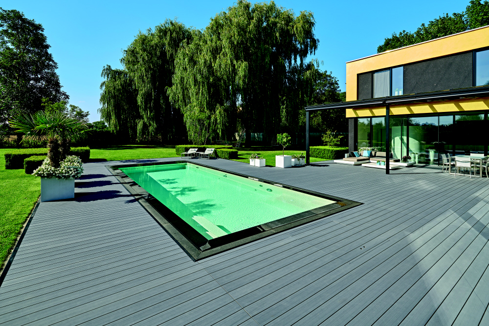 Reference decking terrace